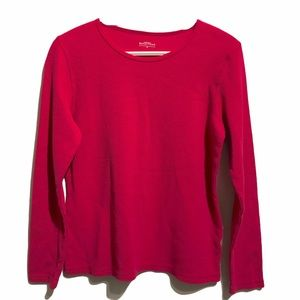 Northern Reflections Thermal Waffle Raspberry Med